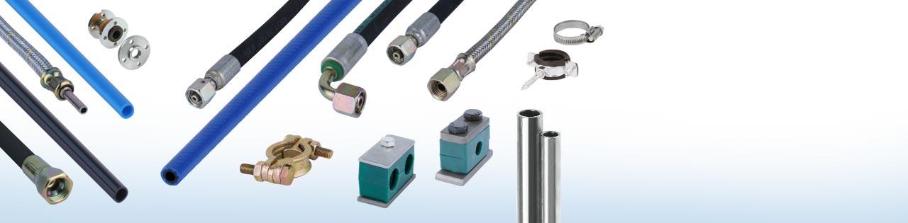 Hydraulik- Rohr, Schlauch, Schellen... - Griebel Hydraulik und Pneumatik