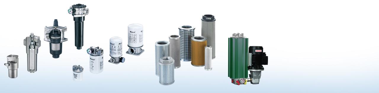 Filter für Öl, Luft, Wasser, Staub... - Griebel Hydraulik und Pneumatik